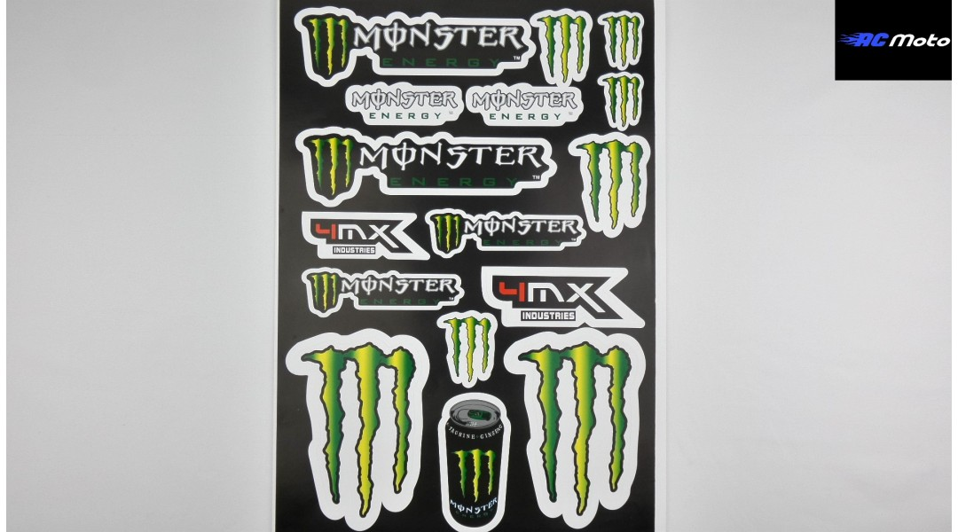 MONSTER ENERGY STICKER KI...