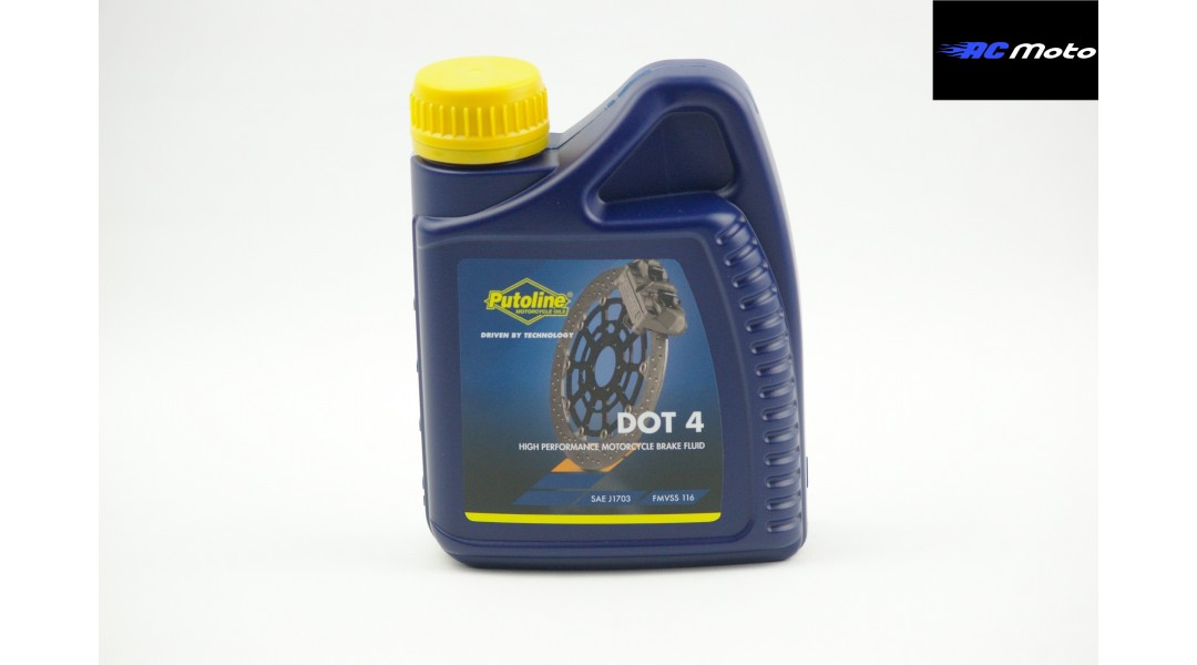 PUTOLINE DOT 4 BRAKE FLUI...