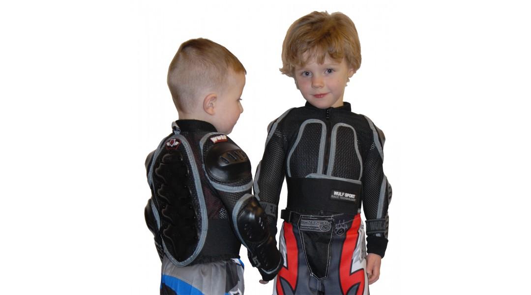 Wulfsport Full Deflector Jacket Cub Junior