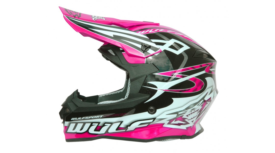 Wulfsport Sceptre Motocross Off Road Helmet Adults