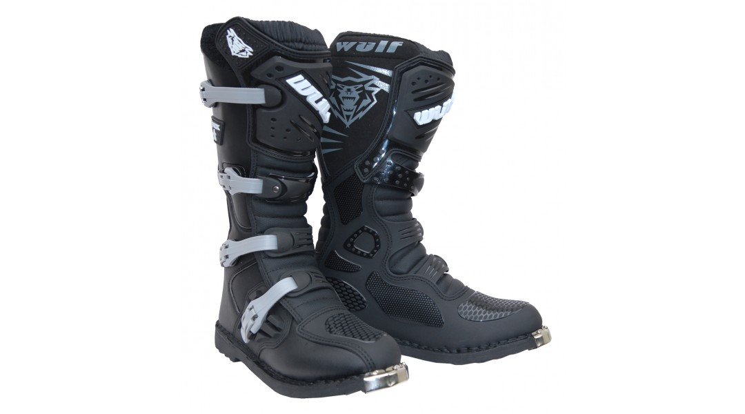 Wulfsport Track star MX Enduro Motocross Boots Adults
